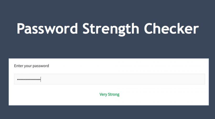 Password Strength Checker