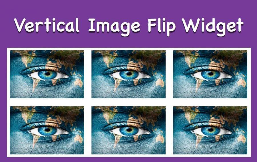 How to Add Vertical Image Flip Widget in Weebly Site?