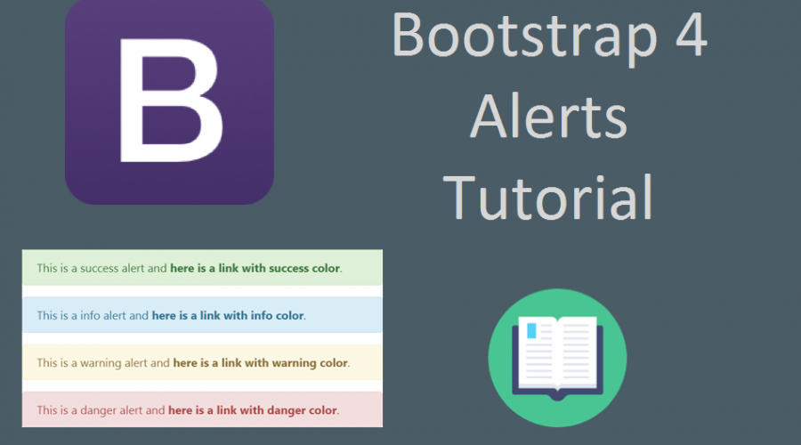 Bootstrap 4 Alerts Tutorial