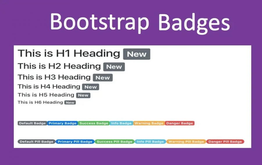 Bootstrap Badges