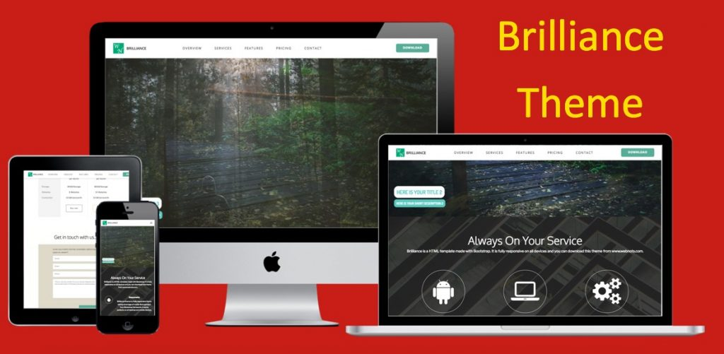 Brilliance Bootstrap Template
