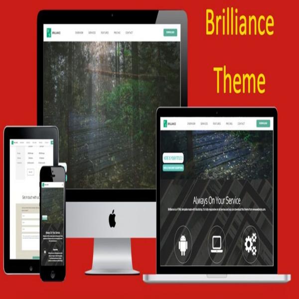 Brilliance Bootstrap Theme