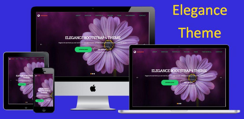 Elegance Bootstrap Theme