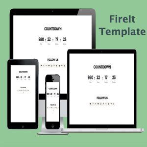 FireIt Coming Soon Template