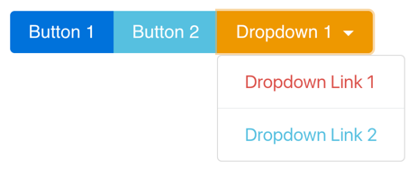 Nested Button Group with Dropdown