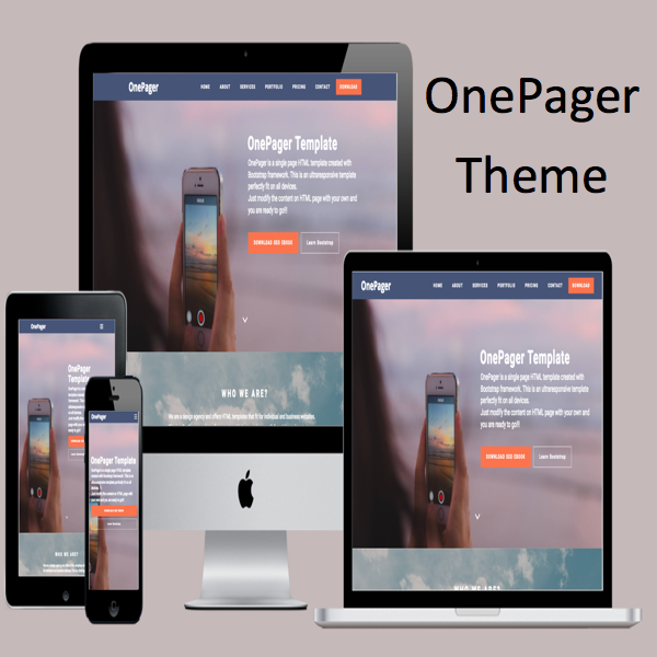 OnePager Bootstrap Theme