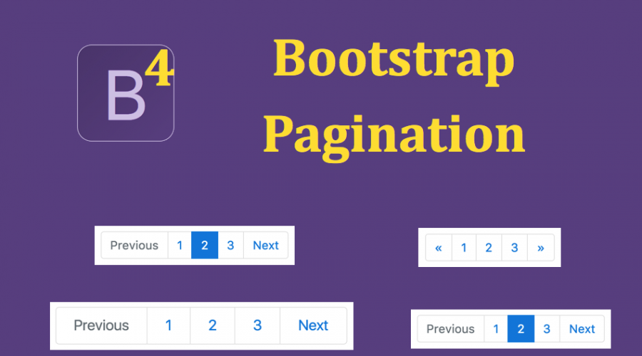 Bootstrap 4 Pagination Tutorial » WebNots