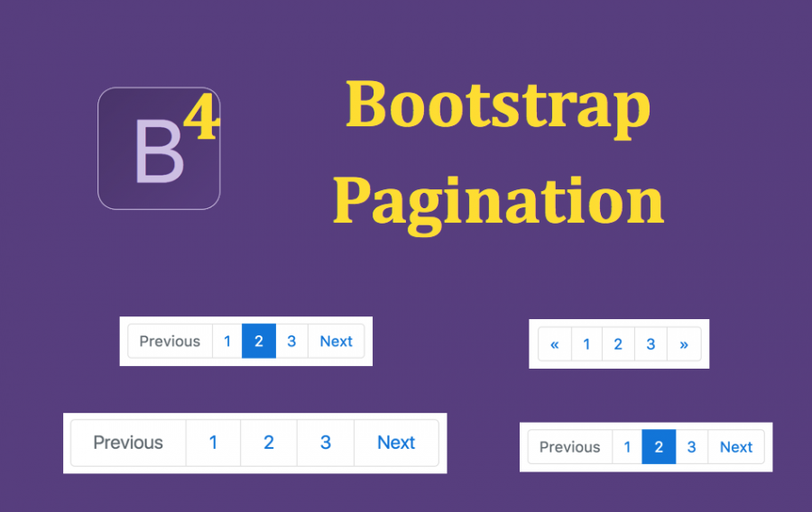 Bootstrap 4 Pagination Tutorial
