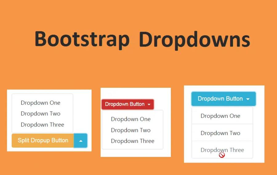 Bootstrap Dropdowns
