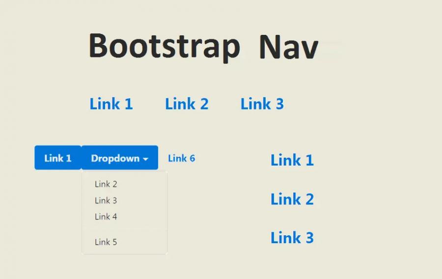 Bootstrap Nav