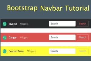Bootstrap Navbar
