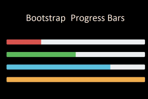 Bootstrap Progress Bars