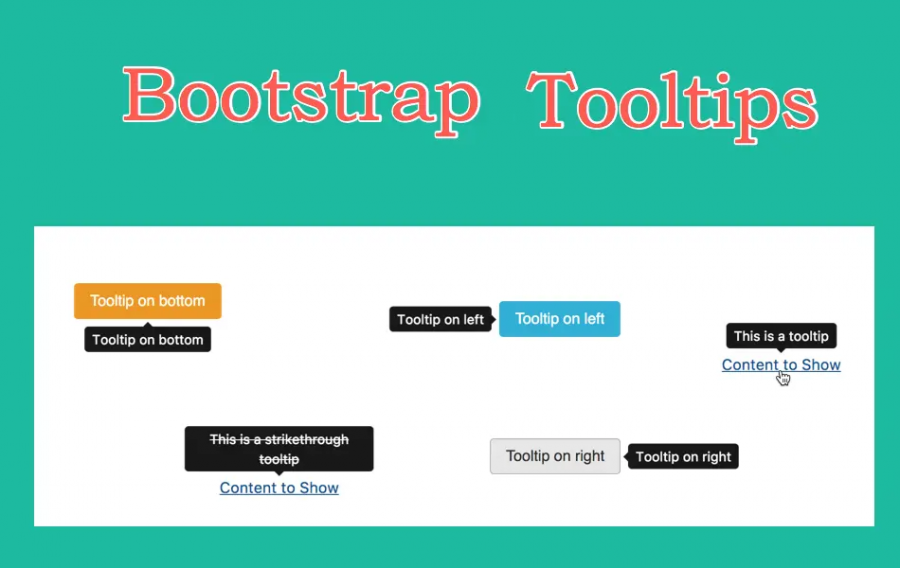 Bootstrap Tooltips