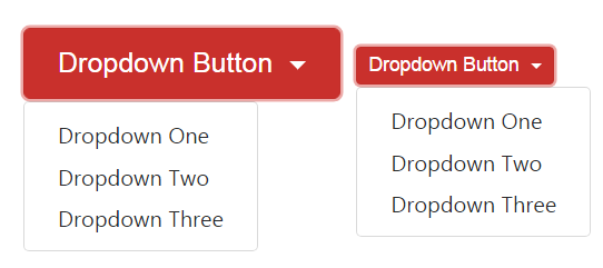 Dropdown Button Sizing