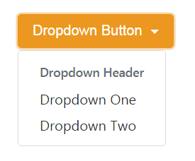 Dropdown Button with Header