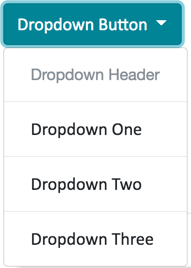 Dropdown Component with Divider and Header