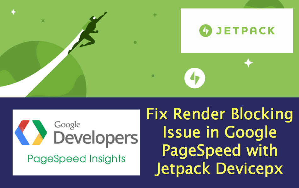 Fix Render Blocking Issue with Jetpack Devicepx Script