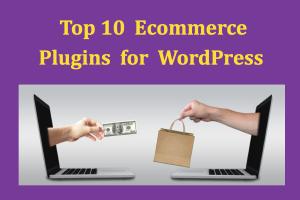 Top 10 Ecommerce Plugins for WordPress