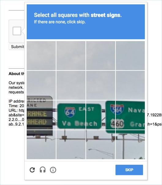 Fix I'm Not A Robot reCAPTCHA Issue in Google Search » WebNots