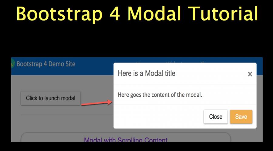 Bootstrap 4 Modal Tutorial » WebNots