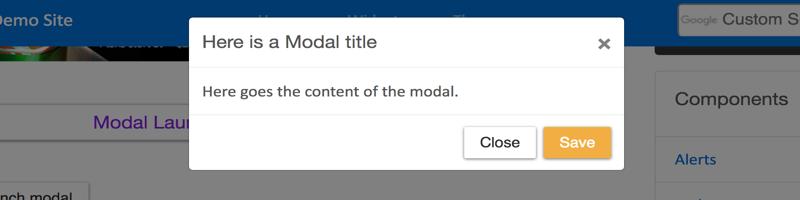Default Modal