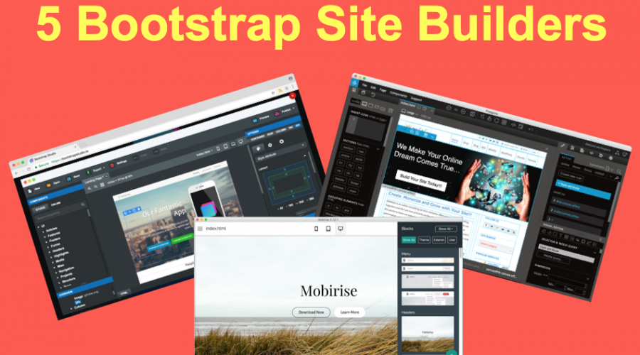 5 Bootstrap Site Builders to Create Your Site or Theme » WebNots