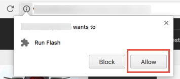 How enable flash in chrome