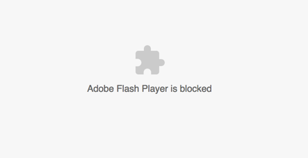 Blocking Adobe Flash Player