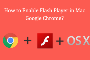 Enable Flash Player in Mac Google Chrome