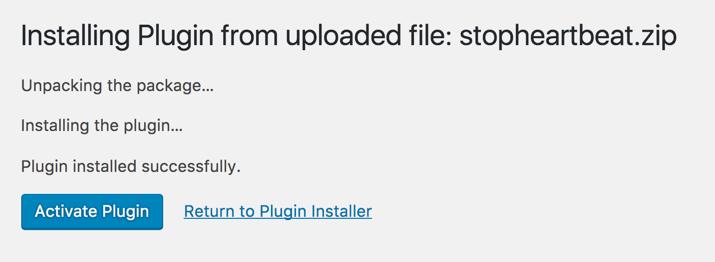 Installing Functionality Plugin