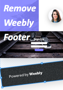 Remove Weebly Footer