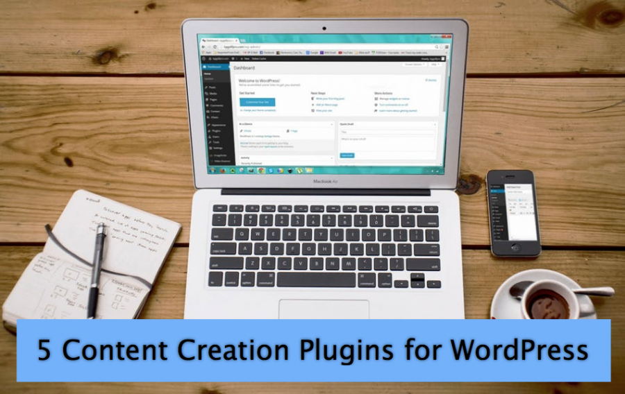 5 Content Creation Plugins for WordPress