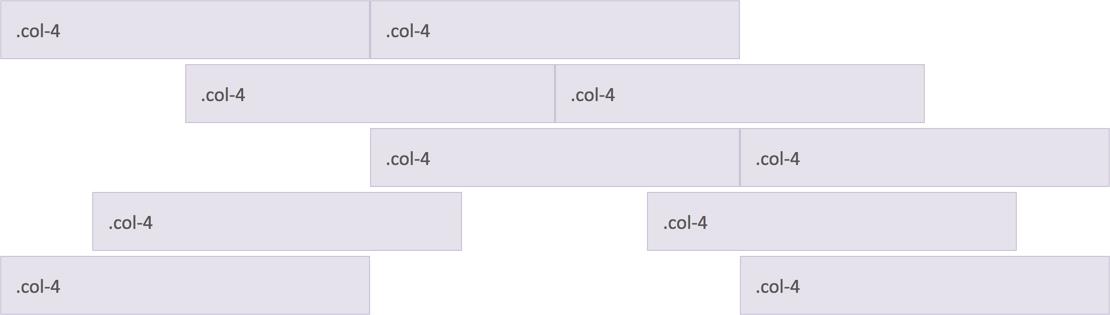 Horizontal Column Alignment