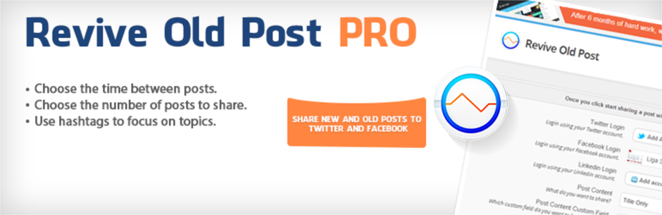 Revive Old Post Auto Post to Social Media