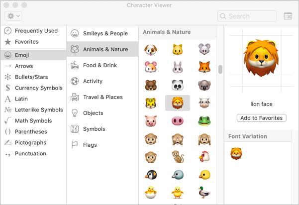 Alt Code Shortcuts for Animals Symbols » WebNots