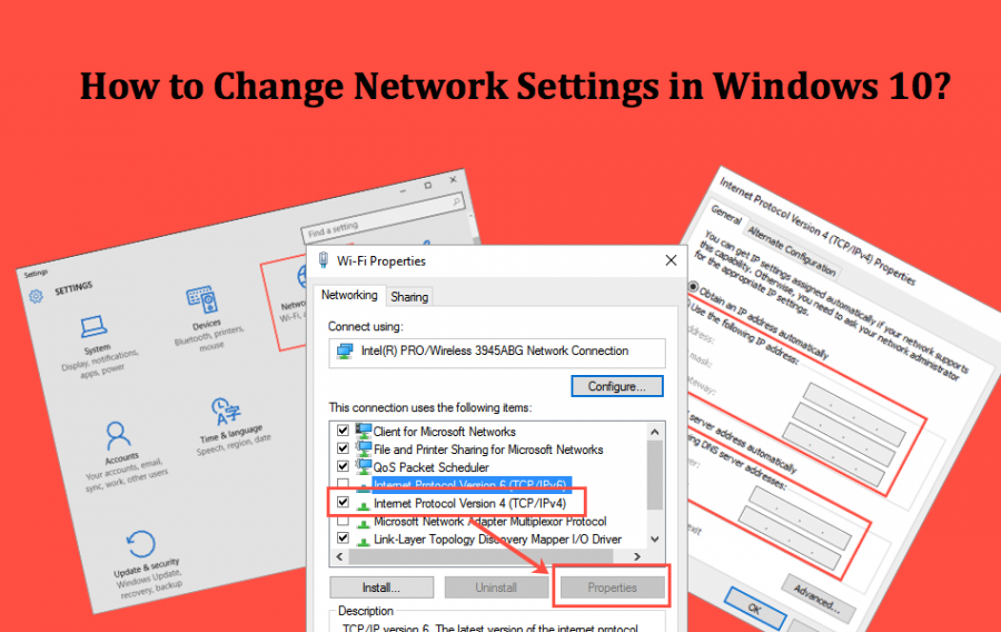 How to Change Network Settings in Windows 10?