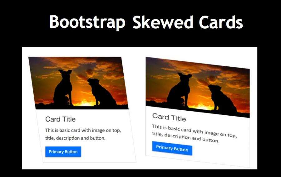 Bootstrap Skewed Card
