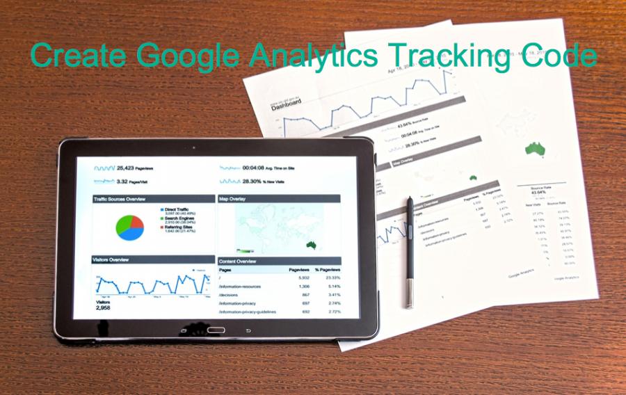 Create Google Analytics Tracking Code