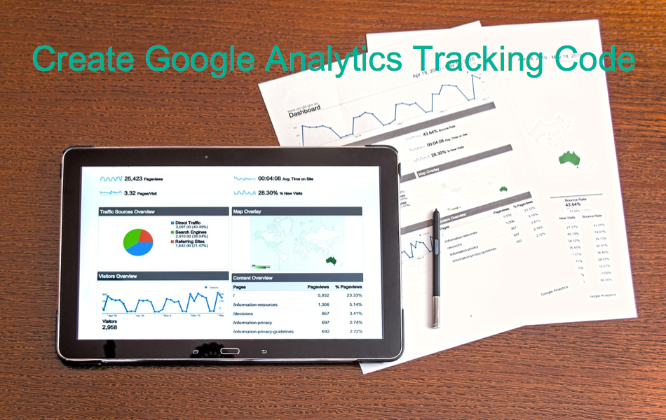 How to Create Google Analytics Tracking Code for Your Site?