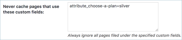 Exclude Pages Based on Custom Fields