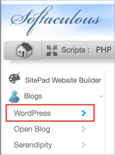 Go to WordPress Installation