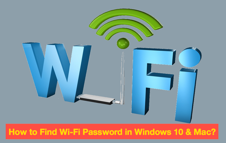 how to find password on win 10
