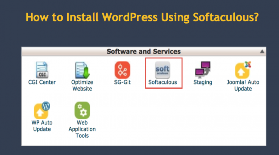 How to Install WordPress Using Softaculous Installer?