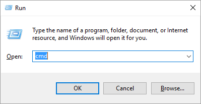 Open Command Prompt in Windows