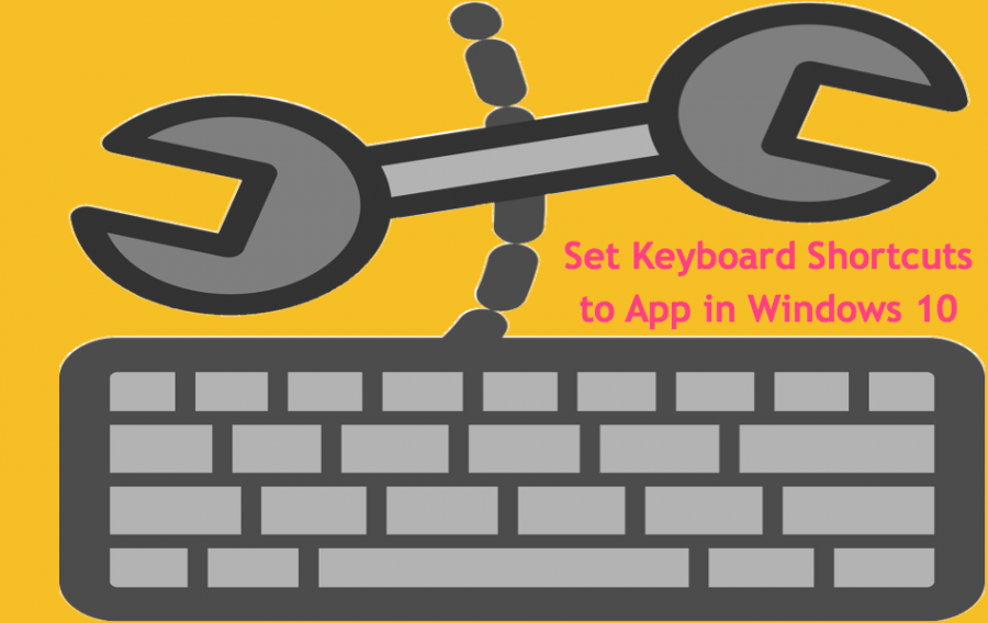 How to Set Keyboard Shortcuts for Applications in Windows 10?