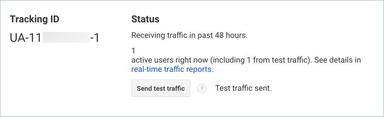 Successfully Testing the Traffic from Analytics
