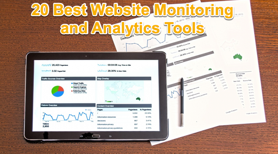20 Best Website Monitoring and Analytics Tools