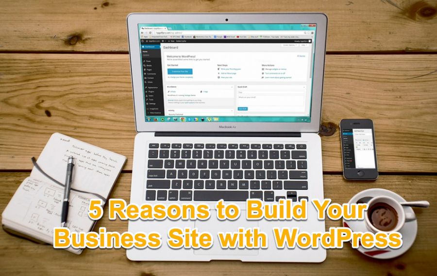 5 Reasons to Build Your Business Site with WordPress