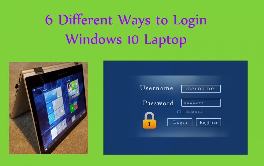 6 Different Ways to Login Windows 10 Laptop