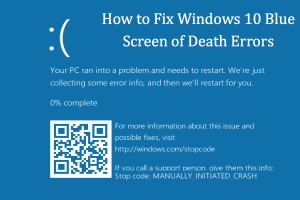 How to Fix Windows 10 Blue Screen of Death Errors